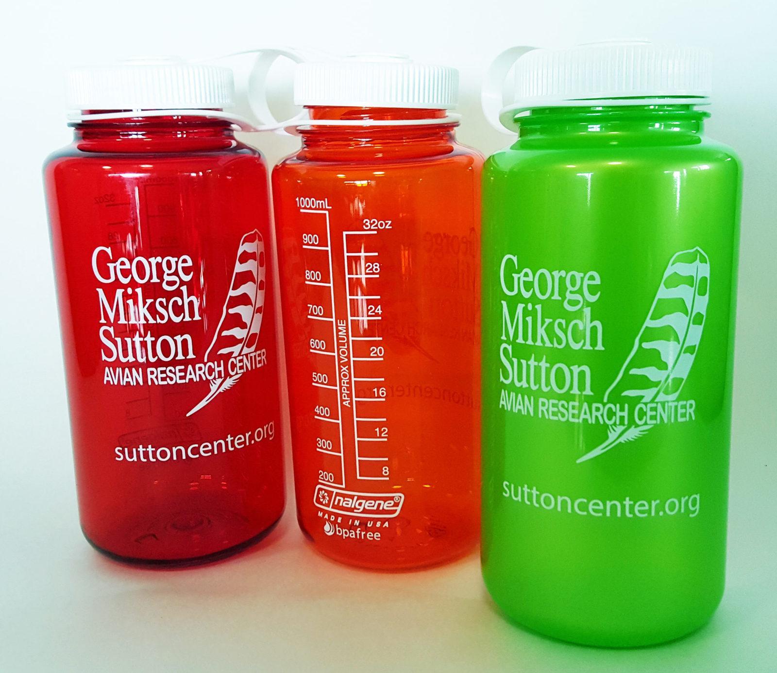 Sutton Center water bottle